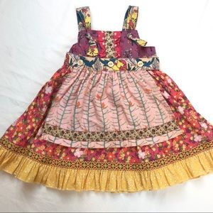 Matilda Jane Apron Jumper Dress Size 18-24 Months